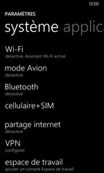 Nokia Lumia 635 - Internet et roaming de données - Désactivation du roaming de données - Étape 4