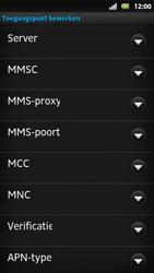 Sony MT27i Xperia Sola - internet - handmatig instellen - stap 12