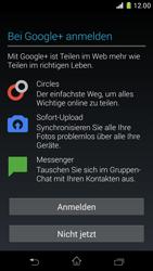 Sony Xperia Z1 Compact - Apps - Konto anlegen und einrichten - Schritt 13