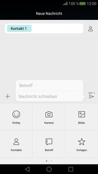 Huawei Mate S - MMS - Erstellen und senden - 2 / 2