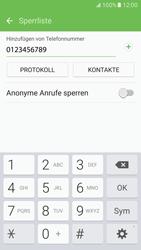 Samsung Galaxy S7 - Anrufe - Anrufe blockieren - 10 / 12