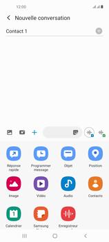 Samsung Galaxy A21s - Contact, Appels, SMS/MMS - Envoyer un MMS - Étape 10