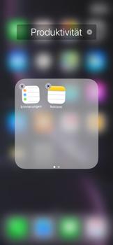 Apple iPhone XR - Startanleitung - Personalisieren der Startseite - Schritt 6