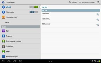 Samsung Galaxy Tab 2 10.1 - WiFi - WiFi-Konfiguration - Schritt 5