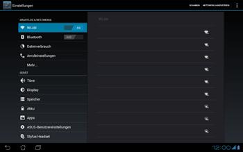 Asus Padfone - WLAN - Manuelle Konfiguration - Schritt 6