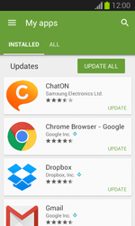 Samsung Galaxy S III Mini - Applications - How to check for app-updates - Step 6