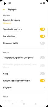 Oppo Find X2 Neo - Photos, vidéos, musique - Prendre une photo - Étape 7