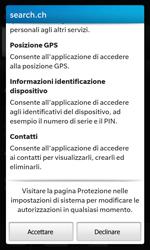 BlackBerry Z10 - Applicazioni - Installazione delle applicazioni - Fase 17