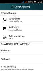 Huawei Y3 - Ausland - Im Ausland surfen – Datenroaming - 6 / 12