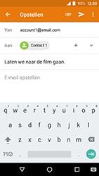 Crosscall Action X3 - E-mail - e-mail versturen - Stap 7