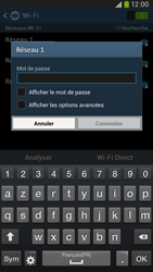 Samsung I9205 Galaxy Mega 6-3 LTE - Wifi - configuration manuelle - Étape 6