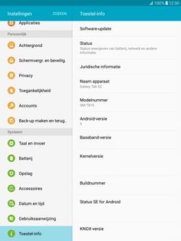 Samsung T815 Galaxy Tab S2 9.7 - Toestel - Software update - Stap 6