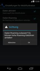 LG Google Nexus 5 - Ausland - Im Ausland surfen – Datenroaming - 9 / 12