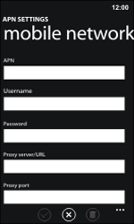 Nokia Lumia 800 / Lumia 900 - MMS - Manual configuration - Step 9