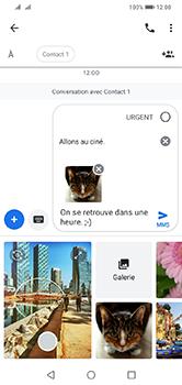 Huawei Y7 (2019) - MMS - envoi d'images - Étape 18