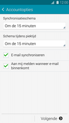 Samsung G800F Galaxy S5 Mini - E-mail - Account instellen (IMAP met SMTP-verificatie) - Stap 17