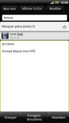 HTC X515m EVO 3D - E-mail - Envoi d
