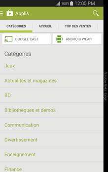 Samsung Galaxy Note Edge - Applications - Installation d