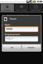 Samsung I7500 Galaxy - Internet - navigation sur Internet - Étape 14