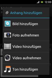 Sony Xperia Miro - MMS - Erstellen und senden - Schritt 15