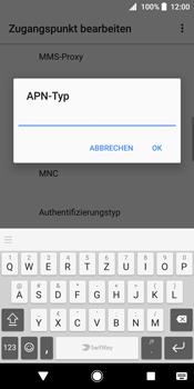 Sony Xperia XZ2 - MMS - Manuelle Konfiguration - Schritt 13
