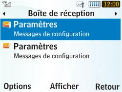 Samsung S3350 Chat 335 - Internet - Configuration automatique - Étape 4