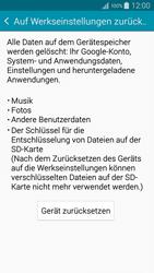 Samsung Galaxy A5 - Fehlerbehebung - Handy zurücksetzen - 1 / 1
