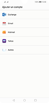 Huawei Y7 (2019) - E-mail - Configuration manuelle (outlook) - Étape 4