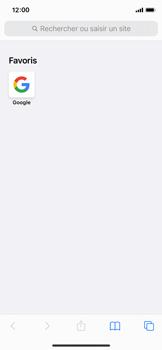 Apple iPhone 11 Pro - iOS 14 - Internet et roaming de données - Navigation sur Internet - Étape 13