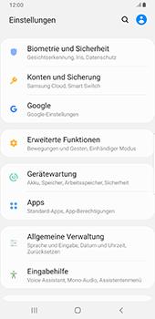 Samsung Galaxy S9 Plus - Android Pie - Apps - Eine App deinstallieren - Schritt 4