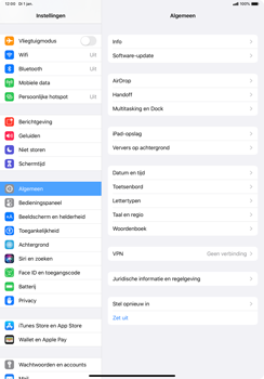 Apple ipad-pro-11-inch-2018-model-a1934- ipados-13 - Internet - Handmatig instellen - Stap 3