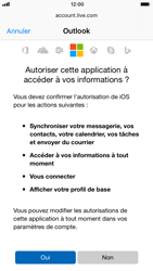 Apple iPhone 6 - iOS 11 - E-mail - 032c. Email wizard - Outlook - Étape 8