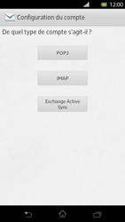 Sony Xperia T - E-mail - Configuration manuelle - Étape 7