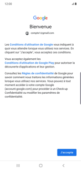 Samsung Galaxy Note 10 Plus 5G - E-mail - 032a. Email wizard - Gmail - Étape 11