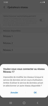 Samsung Galaxy S20 5G - Réseau - Sélection manuelle du réseau - Étape 12