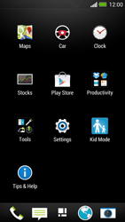 HTC One - Internet and data roaming - How to check if data-connectivity is enabled - Step 3