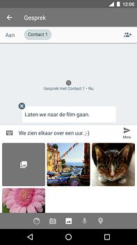 Nokia 6 (2018) - MMS - Afbeeldingen verzenden - Stap 11