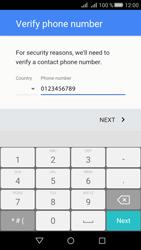Huawei Huawei Y5 II - Applications - Create an account - Step 7