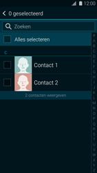 Samsung G901F Galaxy S5 Plus - Contactgegevens overzetten - delen via Bluetooth - Stap 6