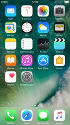 Apple iPhone 7 - Apps - Konto anlegen und einrichten - Schritt 2