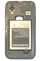 Samsung S5830 Galaxy Ace - SIM-Karte - Einlegen - Schritt 4