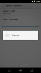 Sony Xperia Z1 - Network - Manual network selection - Step 7
