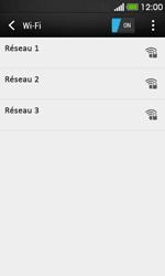 HTC Desire 500 - Wifi - configuration manuelle - Étape 5