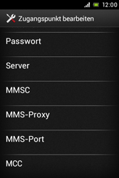 Sony Xperia E - MMS - Manuelle Konfiguration - Schritt 11