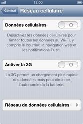 Apple iPhone 4S - Internet et roaming de données - Configuration manuelle - Étape 6