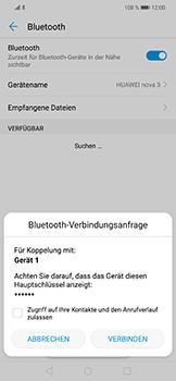 Huawei Nova 3 - Bluetooth - Geräte koppeln - Schritt 9