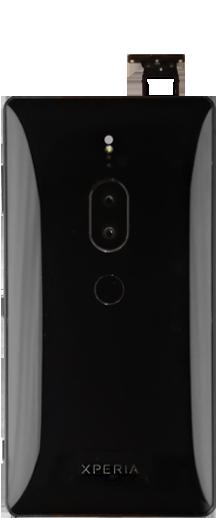 Sony Xperia XZ2 Premium - SIM-Karte - Einlegen - Schritt 3