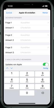 Apple iPhone XS - iOS 13 - Apps - Einrichten des App Stores - Schritt 14