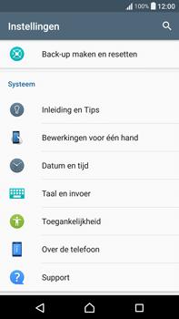Sony Xperia XA Ultra (F3211) - software - update installeren zonder pc - stap 4