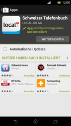 Sony Xperia T - Apps - Installieren von Apps - Schritt 9